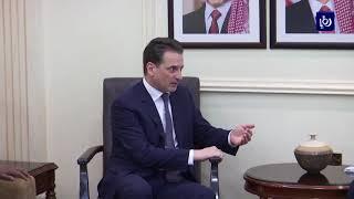 وزير الخارجية يبحث أزمة الأونروا مع كرينبول - (29-5-2019)