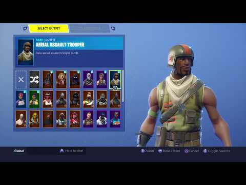 SEASON 1 Fortnite Account Locker And Stats Showcase! (Season 1) *OG Skull Trooper & more rare skins*