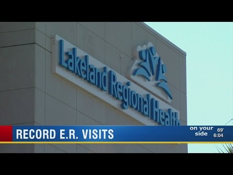 Lakeland Regional Health #1 in nation for amount of ER visits