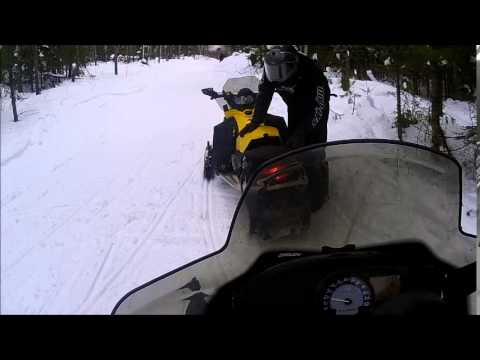 Snowmobiling Vilas County WI