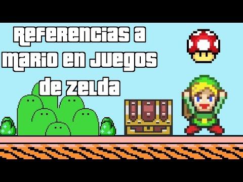 Referencias a Mario en Juegos de Zelda - Pepe El Mago