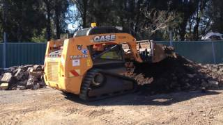 DJP Excavations - Case TR270 Track Loader