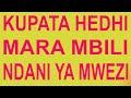 Sababu za kupata/ kuona hedhi mara mbili ndani ya mwezi mmoja