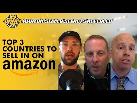 What Are the Top 3 Countries to Sell In on Amazon?