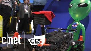 Baby NASA rovers that fold up and climb walls
