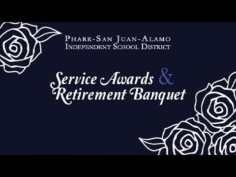 Service Awards & Retirement Banquet 2016