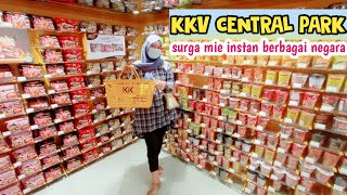 KKV CENTRAL PARK | SURGA MIE INSTAN | shopping, a day in my life Indonesia✨