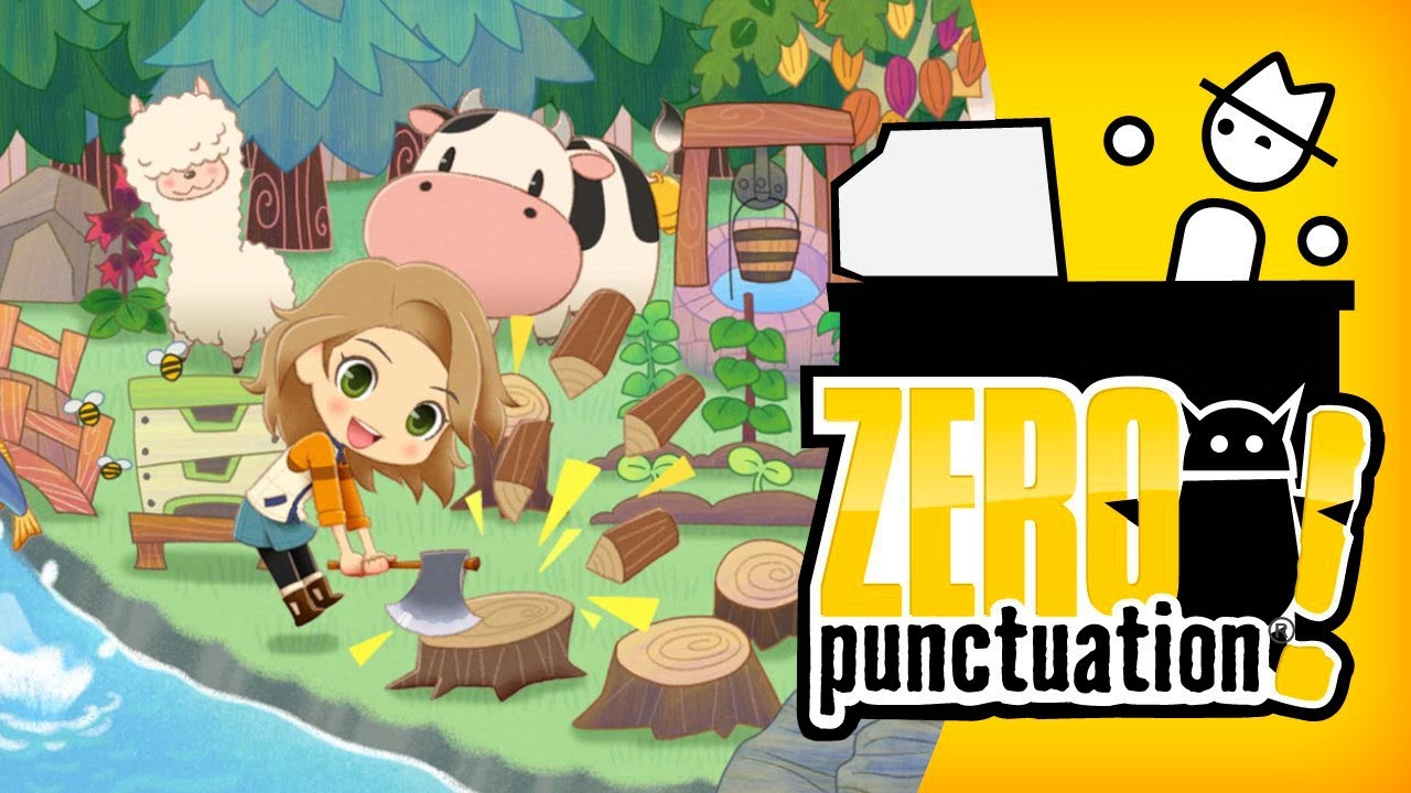 Story of Seasons: Pioneers of Olive Town (Zero Punctuation) (Video Game Video Review)