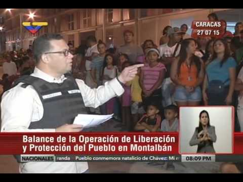 MInistro González López da resultados de OLP en Montalbán y la Panamericana