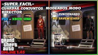 *FUNCIONANDO* CONJUNTOS MODEADOS MODO DIRECTOR GTA V ONLINE 1.45 PS4 - XBOX ONE