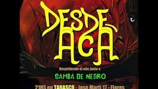 SAMBA DE NEGRO - GRABACIÓN AUDIO 2013  (Waitin y El reggae de paz y amor)