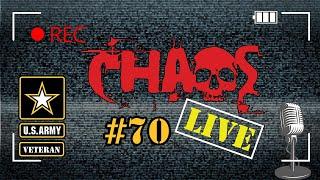 Chaos Live #70 | Army Q&A | US Army Veteran
