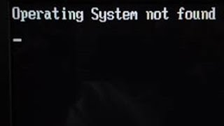 Operating system not found Acer