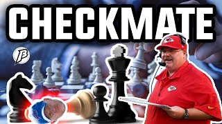 Andy Reid calls checkmate to Sean McDermott || Josh Allen wasn't his best Monday Evening !!!
