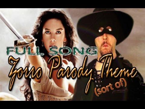 Legend of Zorro - Nostalgia Critic Full Zorro Parody Theme (sort of)