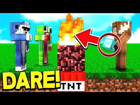 THE MOST INSANE TRUTH OR DARE... GONE WRONG! 😱 - MINECRAFT
