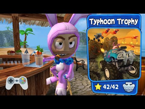 Beach Buggy Racing - Typhoon Trophy - Full Gameplay - All Stars!!!