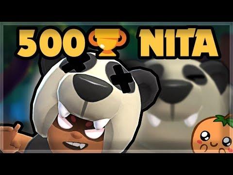 WALL PEEKING with Nita to 500 Trophies | Brawl Stars 🍊