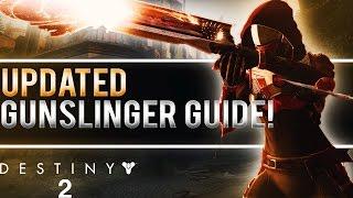 DESTINY 2 REVAMPED HUNTER GUNSLINGER GUIDE! (6 Golden Gun Shots, New Dodge Ability & More!)