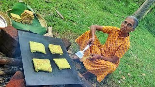 Bread Omelette prepared in my Village by Grandma