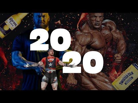 2020 Bodybuilding, Powerlifting & Strongman Recap