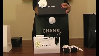 Unboxing -Chanel lambskin wallet and so much more.....OOTD Thumbnail