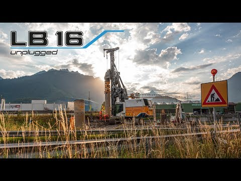 Liebherr  First battery-powered Drilling Rig on Site