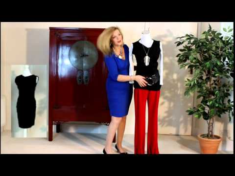 Fashion Tips For Older Women Little Black Dress Styled With 70s