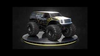 Monster Jam 25th anniversary truck