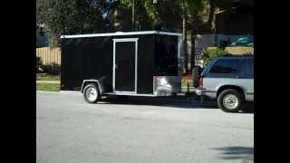 Cargo Trailer Camper Conversion