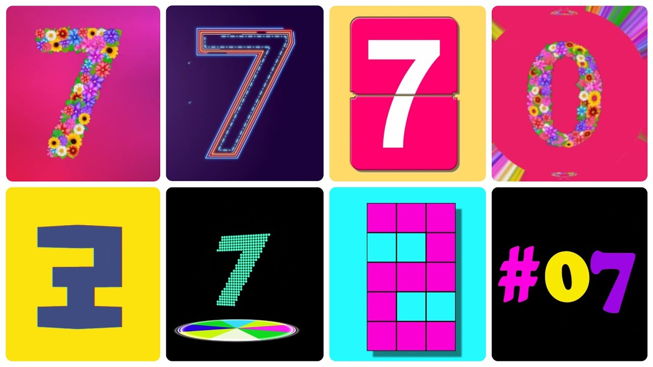Download NEW! 7 Countdown Timer 10 seconds (TC.019)