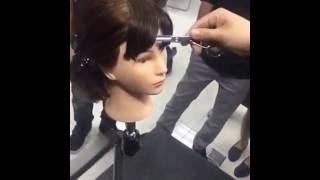 Các kỹ thuật cắt tóc mái cơ bản - [Huân Bùi Loreal] thumbnail
