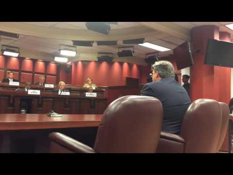 Bruce Beemer Addresses The Senate Judiciary Committee