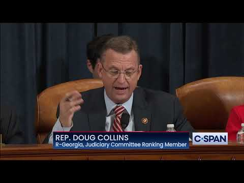 Rep. Doug Collins Opening Statement On Articles Of Impeachment