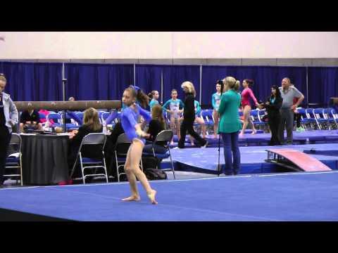 Bogdana Kadashevich Floor - 2014 Elite Qualifier San Diego