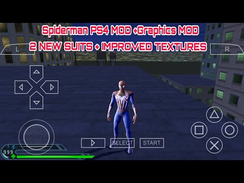 SPIDERMAN PS4 MOD for Spiderman 3 psp version || Android