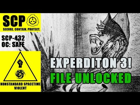 SCP-432 Illustrated (The Cabinet Maze) FILE 3 UNLOCKED