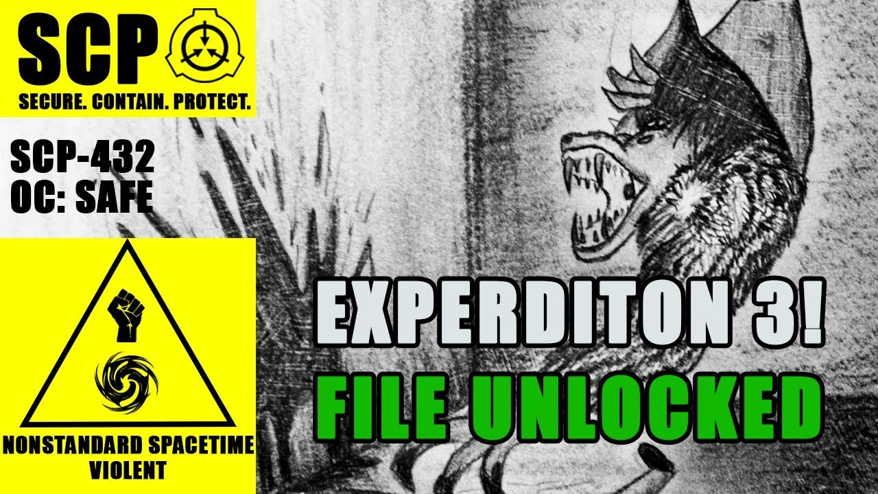SCP-432 Illustrated (The Cabinet Maze) FILE 3 UNLOCKED ...