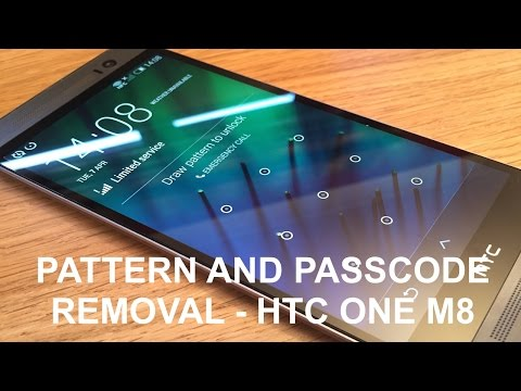 How to reset/wipe any passcode locked HTC ONE M8
