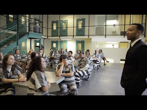 John Legend Visits Travis County Jail
