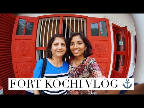 Laidback Trip to Fort Kochi | Travel Vlog (Part I) // #MagaliTravels