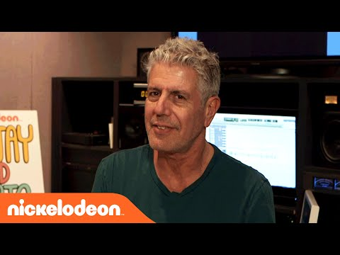 Sanjay and Craig | Behind the Scenes w/ Guest Star Anthony Bourdain | Nick