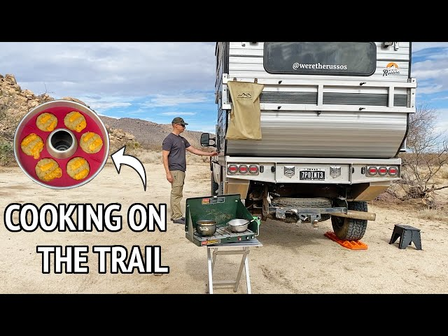 RV COOKING   Delicious Meals Using a Camping Stove and Omnia Oven