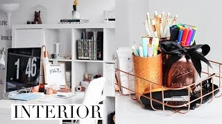 DIY Desk Decor & Organization Ideas 2017 | Pinterest Inspired + GIVEAWAY