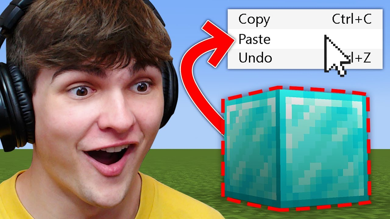 Minecraft, But You Can Copy And Paste...