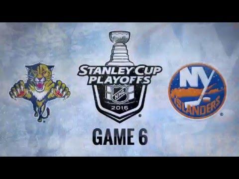 Florida Panthers vs New York Islanders. Game #6. PlayOffs NHL 2016