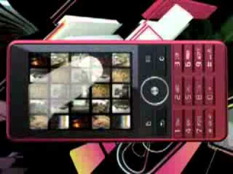 Sony Ericsson G900 - Demo Tour