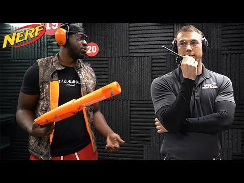 Banned From Shooting Range for Bringing Nerf Guns!