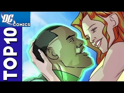 Top 10 Green Lantern and Hawkgirl Moments From Justice League