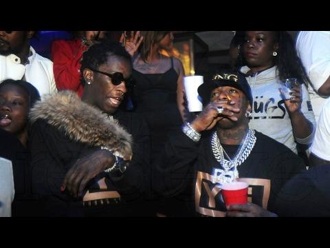 Rapper Birdman & rapper Young Thug